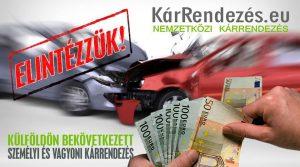 Külföldi baleset esetén NE a biztosítóba menjen. A külföldi biztosítók avulásmentesen fizetik a kártérítést.