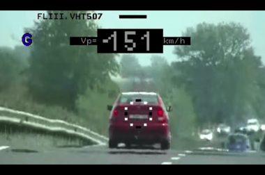 Civil autós sebességmérés – sok sebből vérzik a rendőrség új akciója