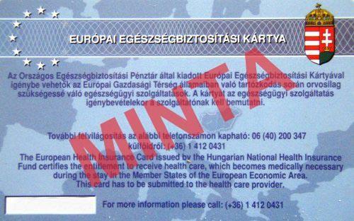 Európai Egészségbiztosítási Kártya: Közel 200 millióan rendelkeznek EU-s kártyával