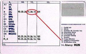 jogosítvány-hosszabbítás határideje