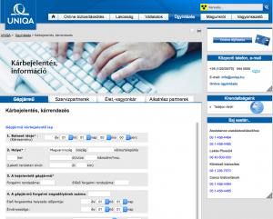 Az Uniqua kárbejelentés a biztosítónál online megindítható, de az aláírt lapokat kinyomtatva is el kell juttatni az irodába.