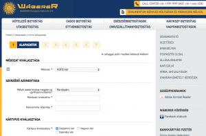 A Waberer biztosító kárbejelentés a biztosítónál online megindítható, de az aláírt lapokat kinyomtatva is el kell juttatni az irodába.