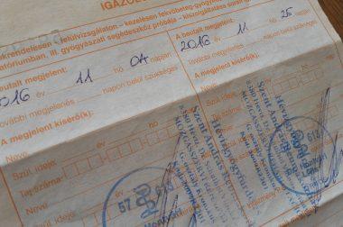 Utazási költségtérítés gyógykezelésre