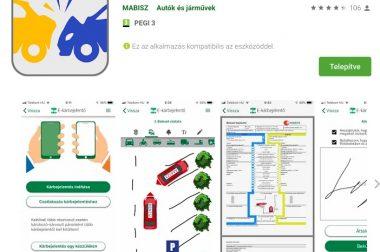Megjelent a MABISZ e-kárbejelentő alkalmazás